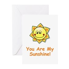 Cute You are my sunshine Greeting Cards (Pk of 10)