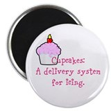 Cupcakes are: Magnet