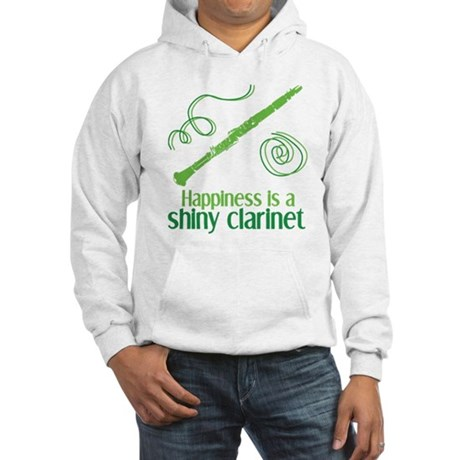 Shiny Clarinet Hooded Sweatshirt