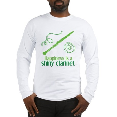 Shiny Clarinet Long Sleeve T-Shirt