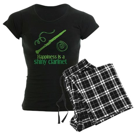 Shiny Clarinet Women's Dark Pajamas