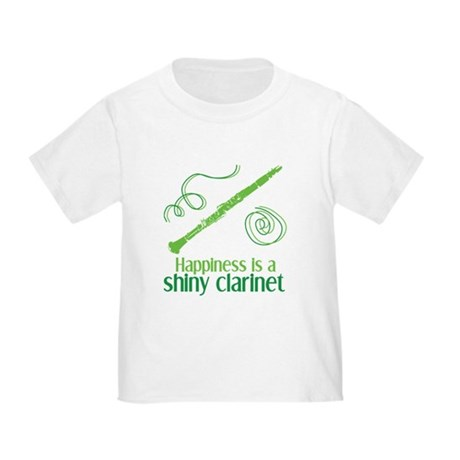 Shiny Clarinet Toddler T-Shirt
