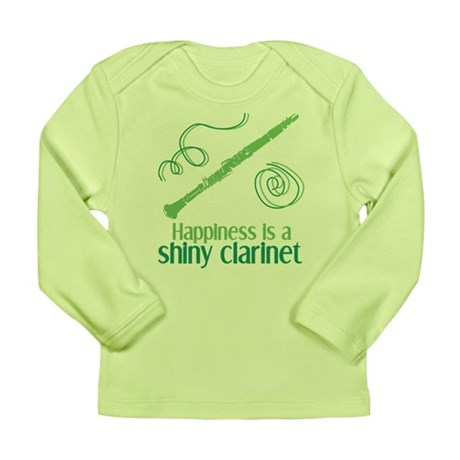 Shiny Clarinet Long Sleeve Infant T-Shirt