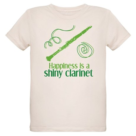 Shiny Clarinet Organic Kids T-Shirt
