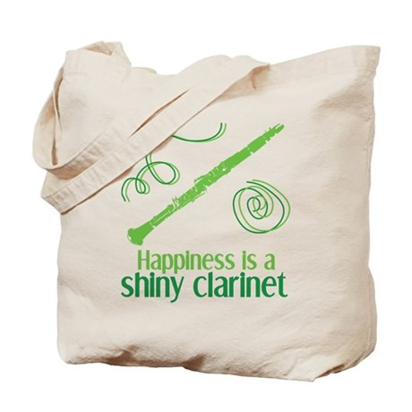 Shiny Clarinet Tote Bag