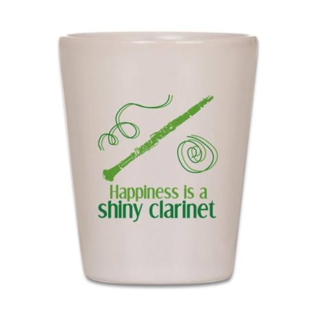 Shiny Clarinet Shot Glass