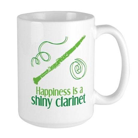Shiny Clarinet Large Mug