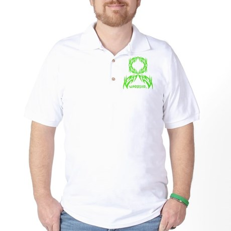 Muscular Dystrophy Warrior Golf Shirt