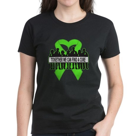 Muscular Dystrophy Cure Women's Dark T-Shirt