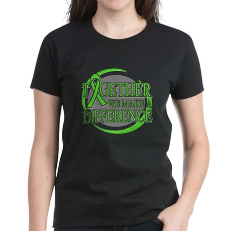 Muscular Dystrophy Support Women's Dark T-Shirt