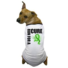 Muscular Dystrophy Cure Run Dog T-Shirt