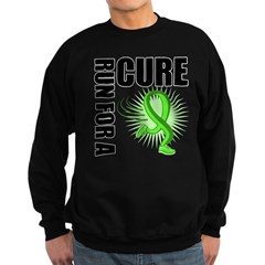 Muscular Dystrophy Cure Run Sweatshirt (dark)