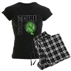 Muscular Dystrophy Cure Run Women's Dark Pajamas