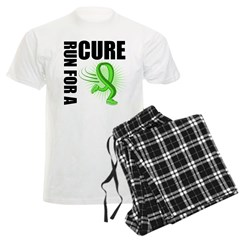 Muscular Dystrophy Cure Run Men's Light Pajamas