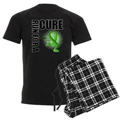 Muscular Dystrophy Cure Run Men's Dark Pajamas