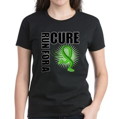 Muscular Dystrophy Cure Run Women's Dark T-Shirt