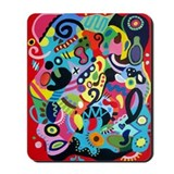 MODERN ABSTRACT Mousepad