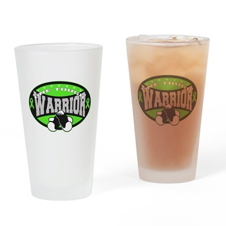 Muscular Dystrophy Warrior Drinking Glass