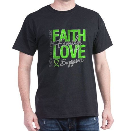 MD Faith Family Love Dark T-Shirt