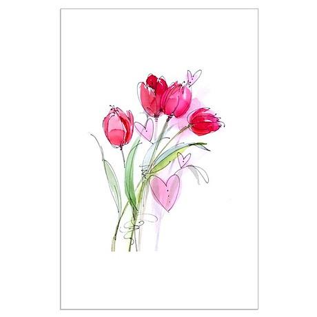 Tulip2 Large Poster