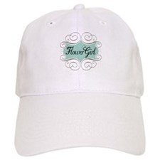 Beautiful Flower Girl Baseball Cap