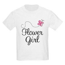 Flower Girl Wedding T-Shirt