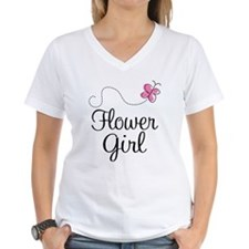 Flower Girl Wedding Shirt
