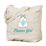 Flower Girl Wedding Cake Tote Bag