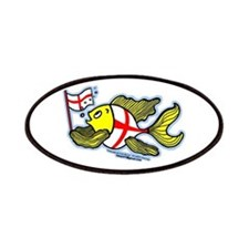 English Flag Fish Patches
