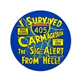"Carmageddon 3.5"" Button"