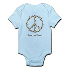 Bees on Earth (Peace) Infant Bodysuit