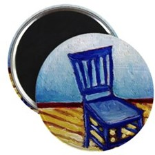 Blue Chair Magnet