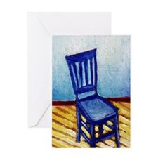 Blue Chair Greeting Card