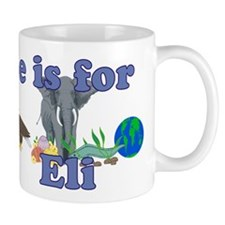 E is for Eli Mug