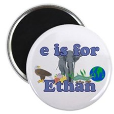 "E is for Ethan 2.25"" Magnet (10 pack)"