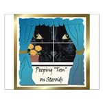 Peeping Tomcat Small Poster