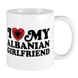 I Love My Albanian Girlfriend Small Mug