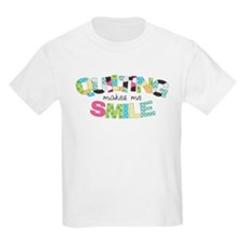 Quilting Makes Me SMILE! T-Shirt