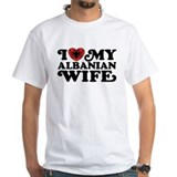 I Love My Albanian Wife Shirt