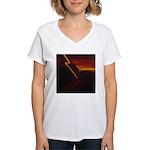Thinking Women's V-Neck T-Shirt