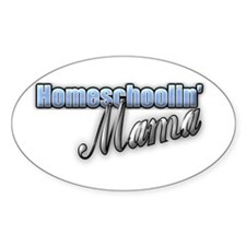 Homeschoolin' Mama Decal