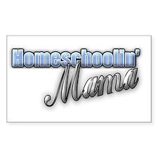 Homeschoolin' Mama Decal