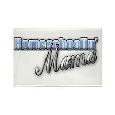 Homeschoolin' Mama Rectangle Magnet