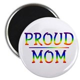 Proud Mom 2.25&quot; Magnet (100 pack)