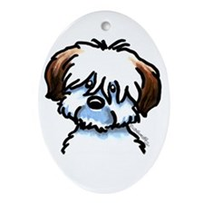 Funny Coton Ornament (Oval)