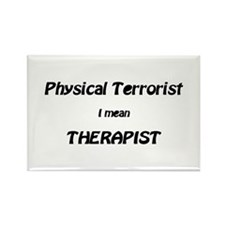 Cute Physical therapist Rectangle Magnet (100 pack)