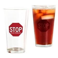 Stop Banana Rebuplicans Drinking Glass