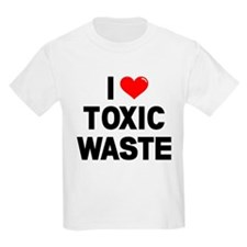 I Heart Toxic Waste Camisetas