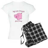 Pigs Are Friends Not Food pajamas