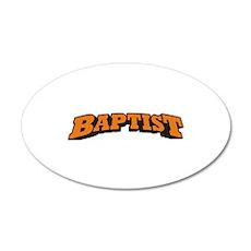 Baptist 22x14 Oval Wall Peel